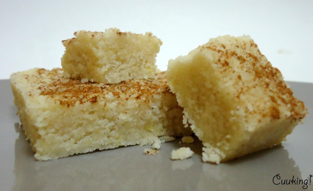 receta Turrón casero de almendra y limón