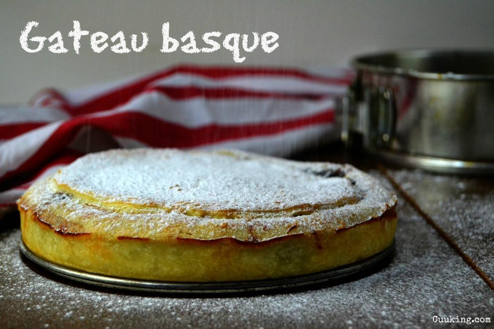 Pastel vasco, euskal pastela o gâteau basque receta