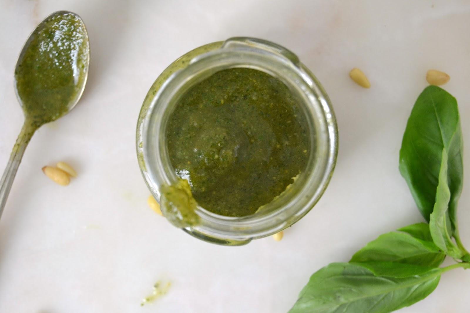 receta pesto genovese casero albahaca piñones