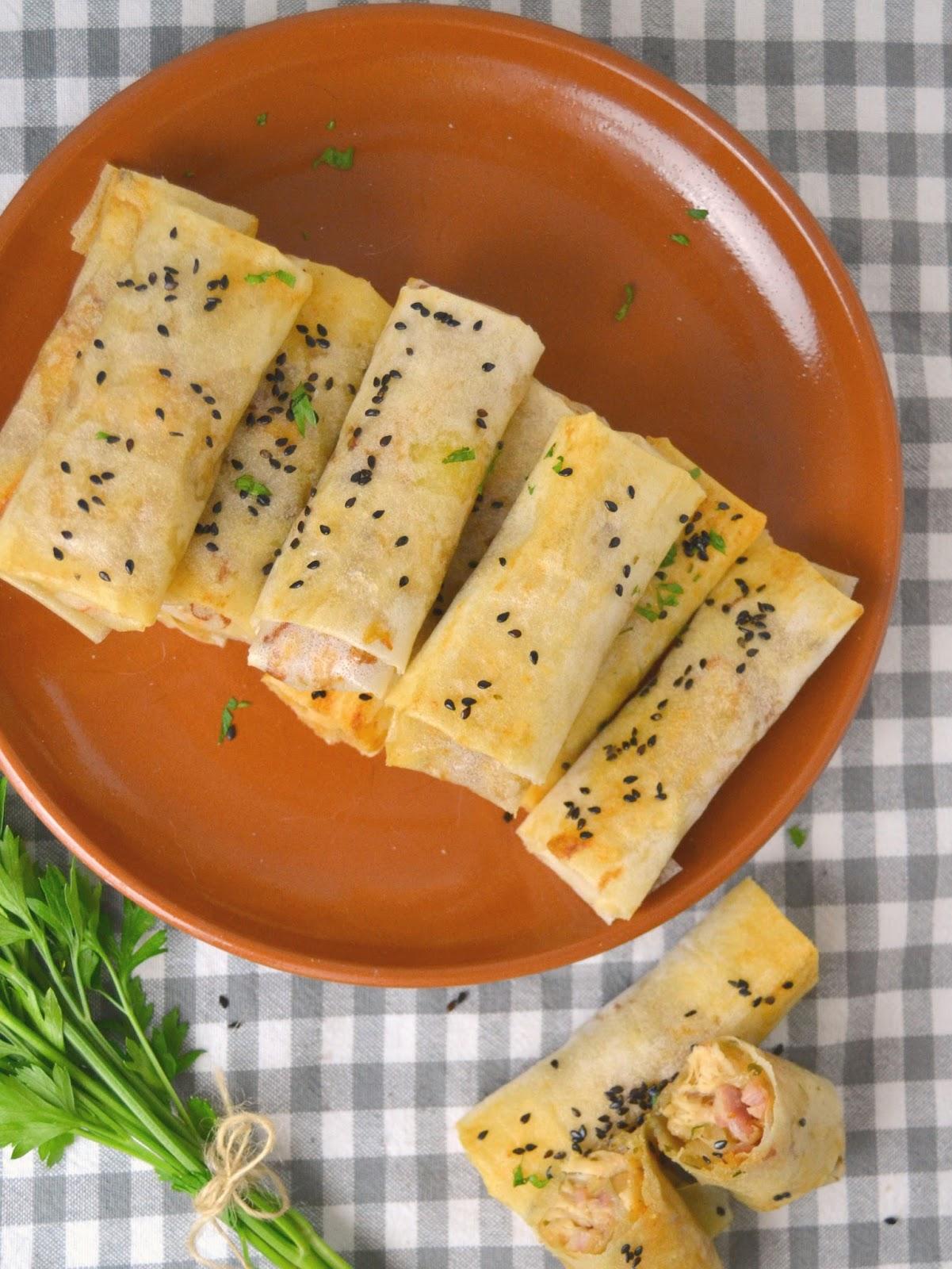 Rollitos de pollo, queso y bacon ¡Una receta de aprovechamiento deliciosa!