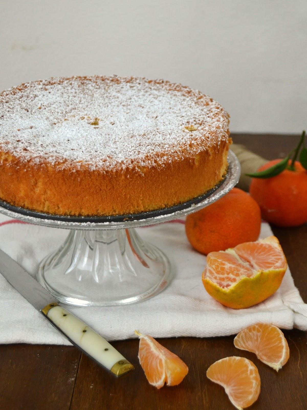 Bizcocho de mandarinas