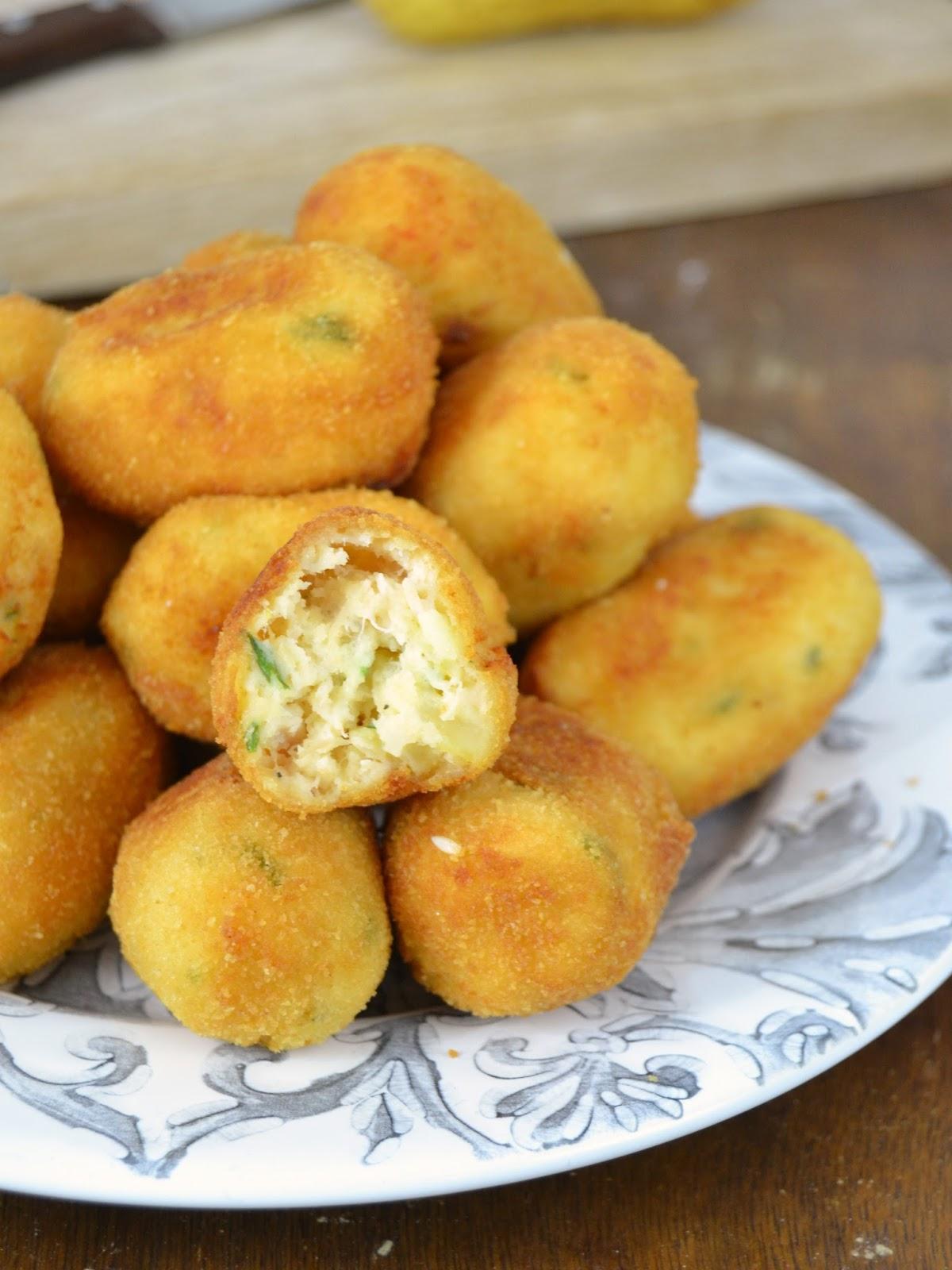 Croquetas de pollo con patata