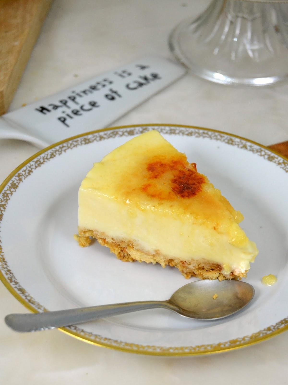 Tarta de crema catalana ¡Por menos de 3€!