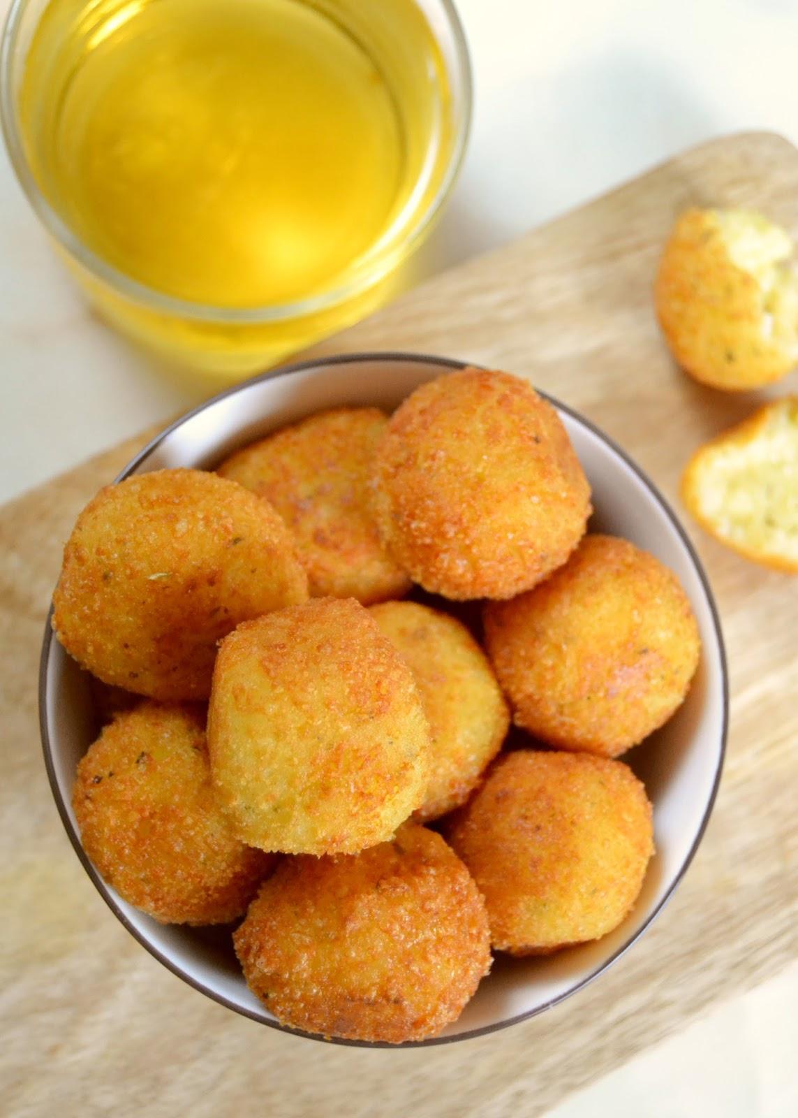 bolitas de queso