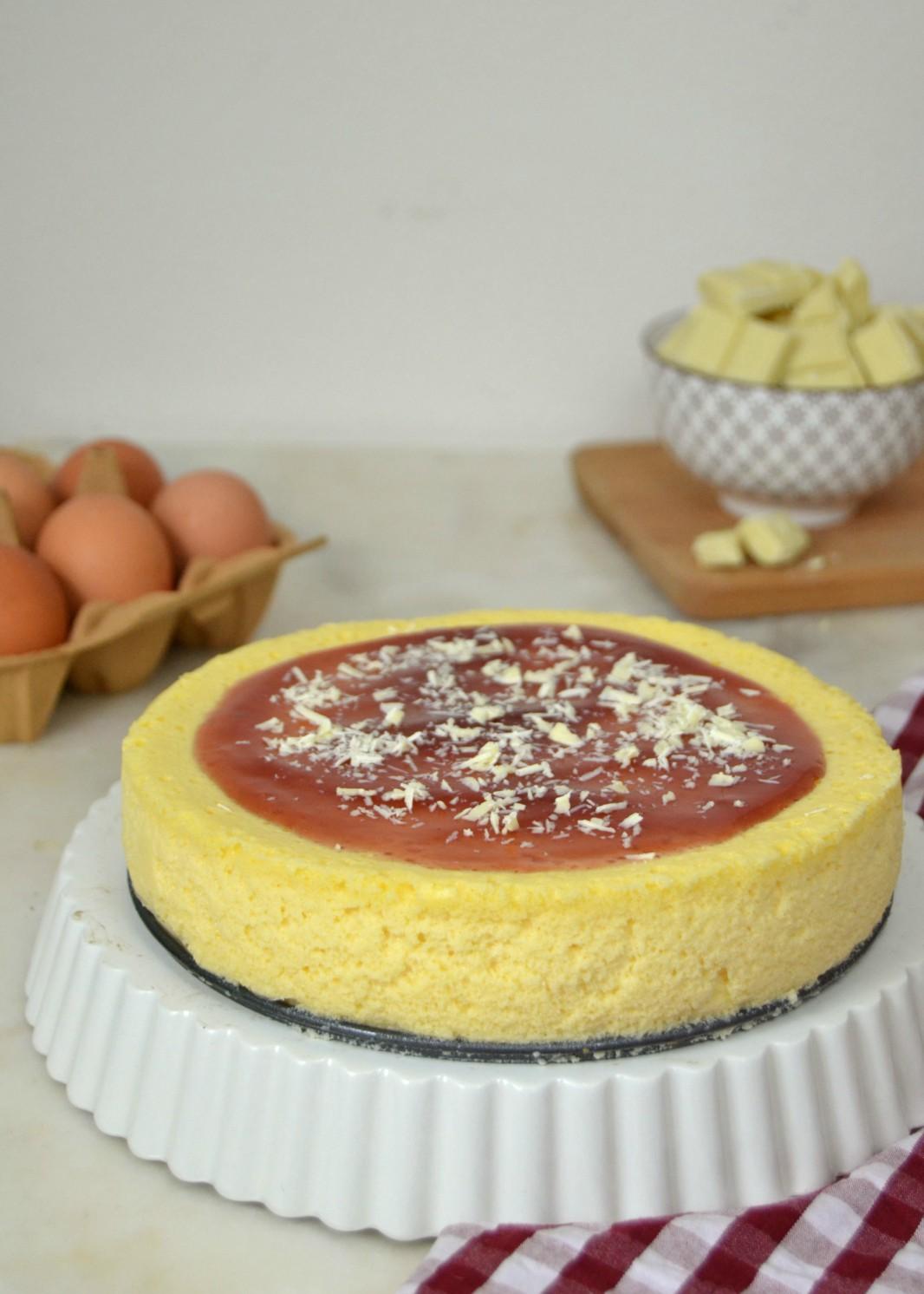 Tarta de queso ¡Con solo 3 ingredientes!