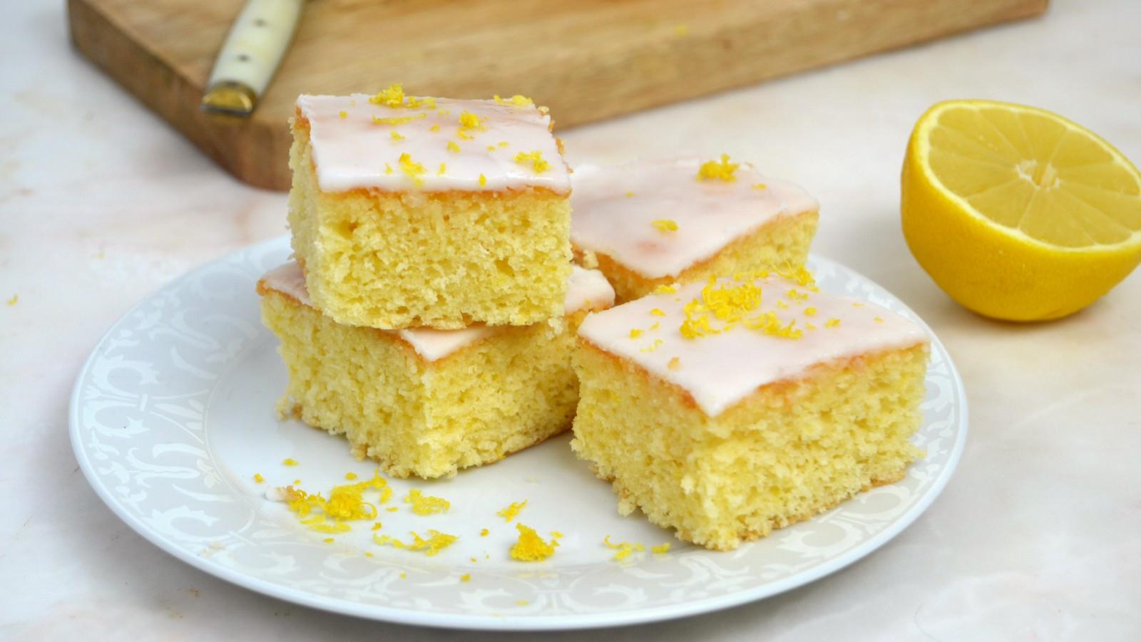 Brownies de limón