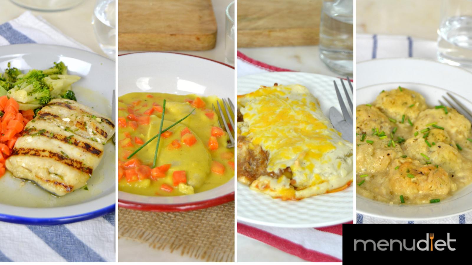 Menudiet, cocina casera y sana a domicilio