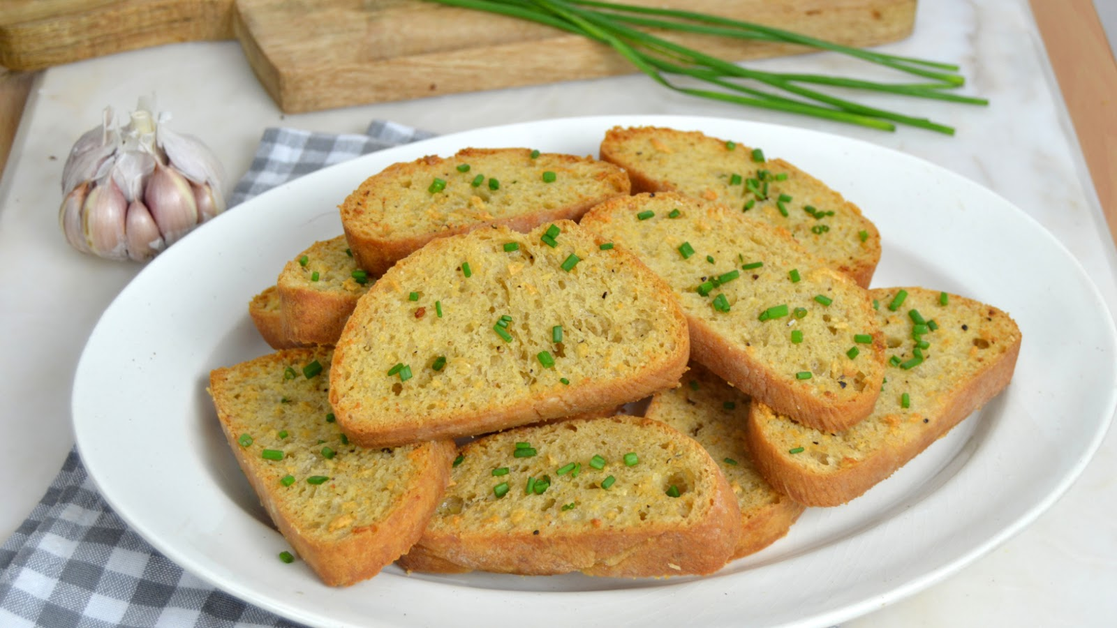 Pan de ajo ¡Facilísimo!