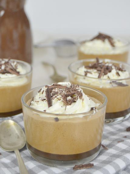 Crema de café con leche en 5 minutos ¡Super suave!