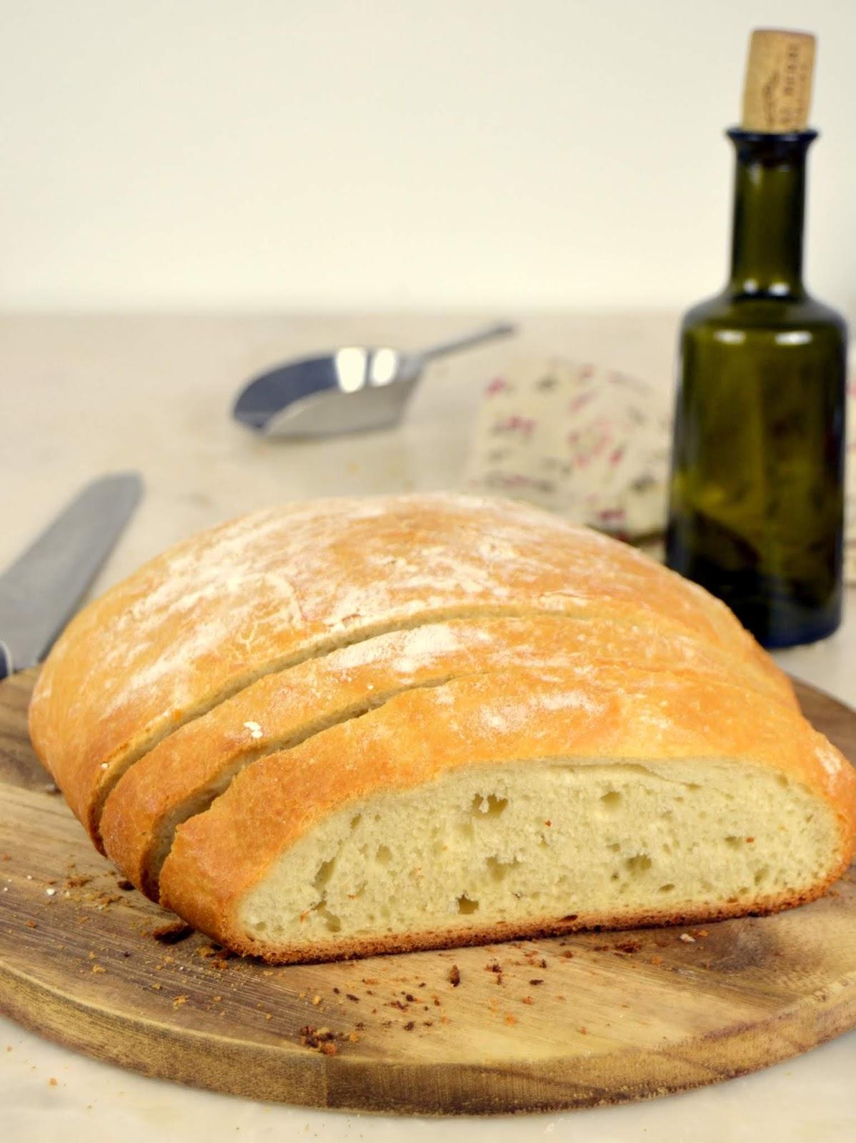 Pan casero fácil ¡Con harina de todo uso!